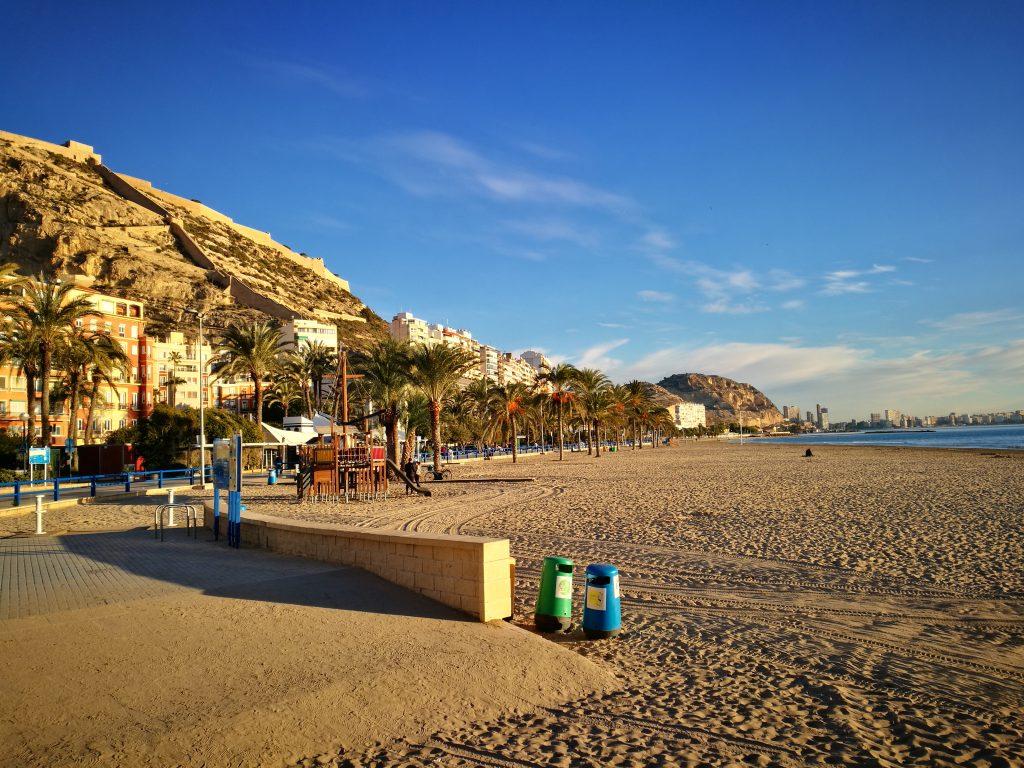 Alicante plage Postiguet