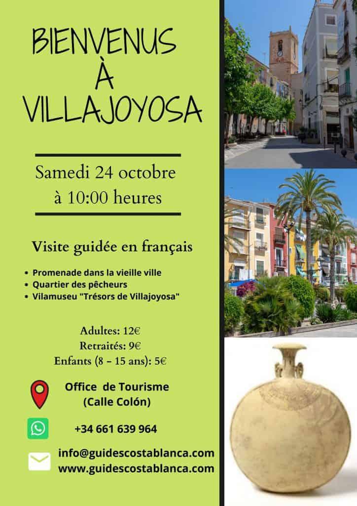 Visite guidée en français Villajoyosa