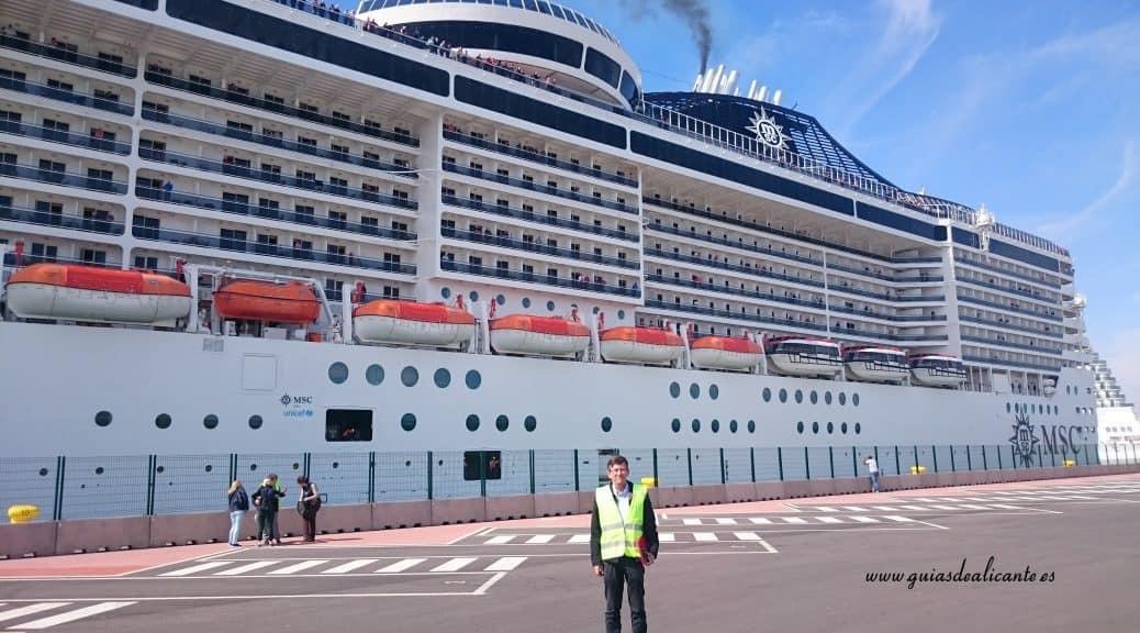Crucero MSC Valencia