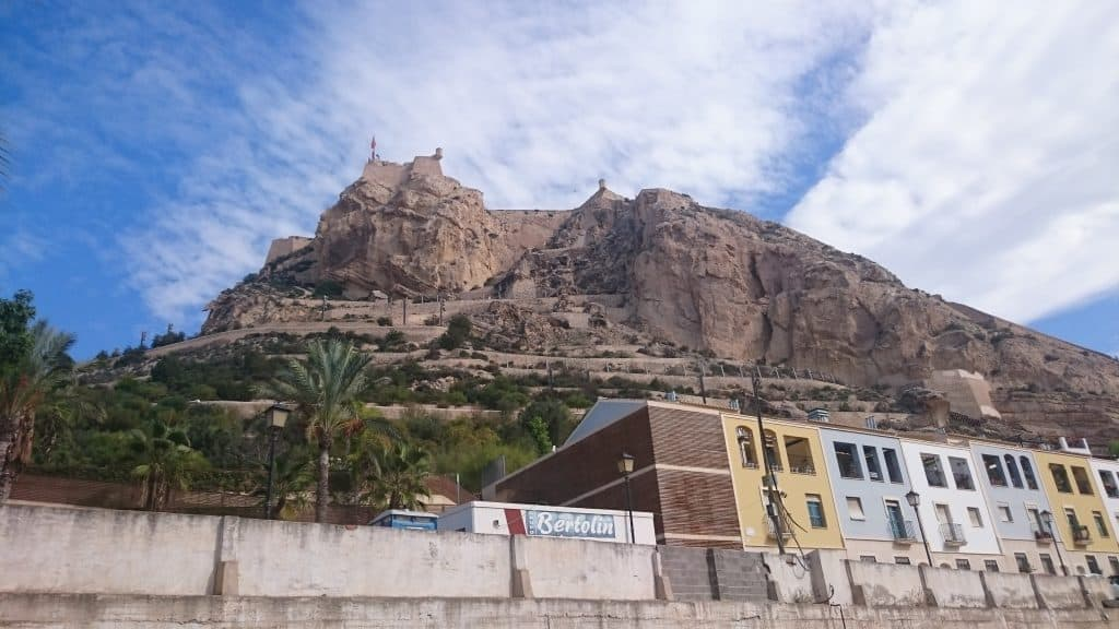 Vue d'Alicante et sa forteresse