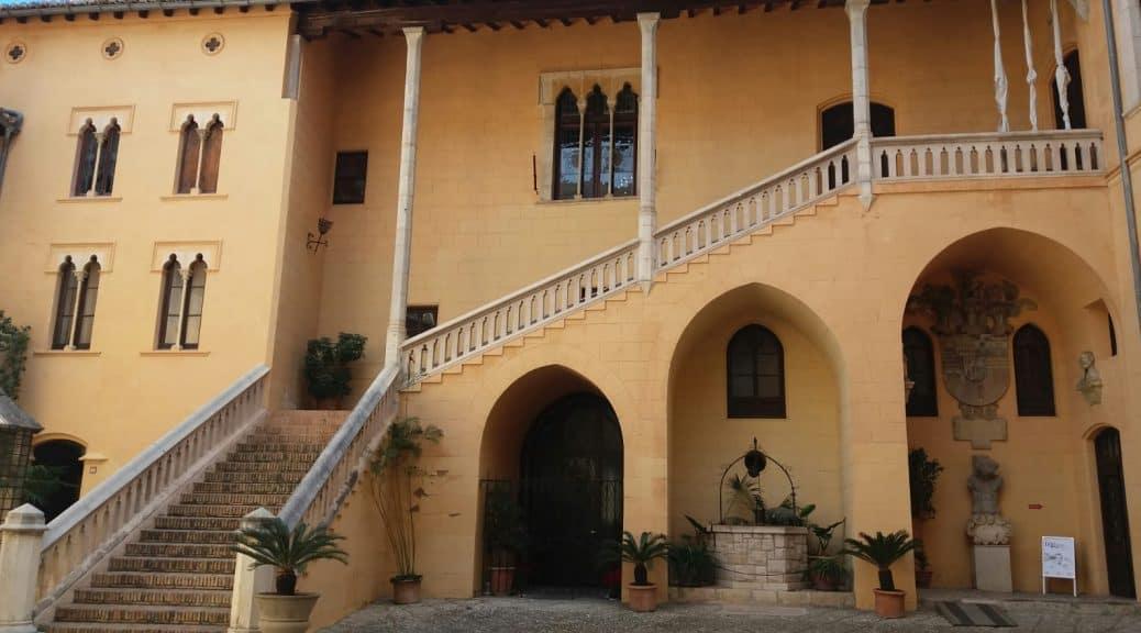 Palais Ducal Gandia Entrée