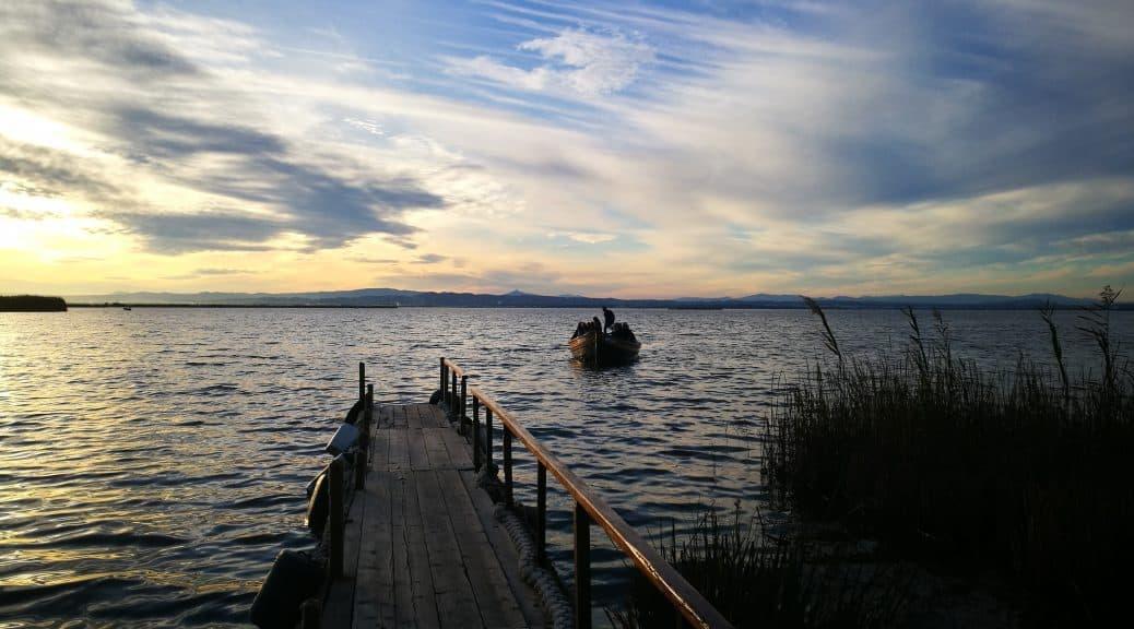 Balade en bateau Albufera