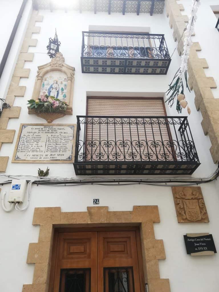 Benissa vieille ville