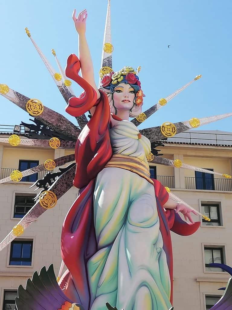 Ninot Feux de la St Jean Alicante