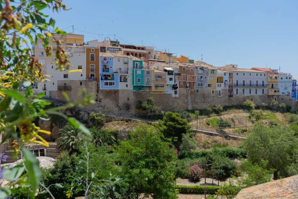 Villajoyosa maisons de couleurs