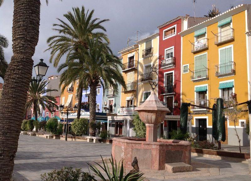 Plaza San Pedro Villajoyosa
