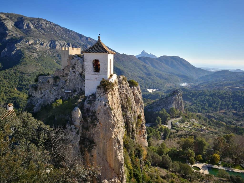 Bell tower Guadalest