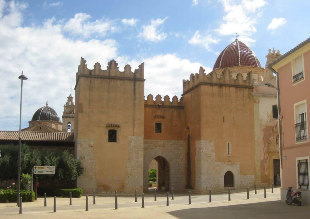 Entrée Monastère de Ste Marie de la Valldigna