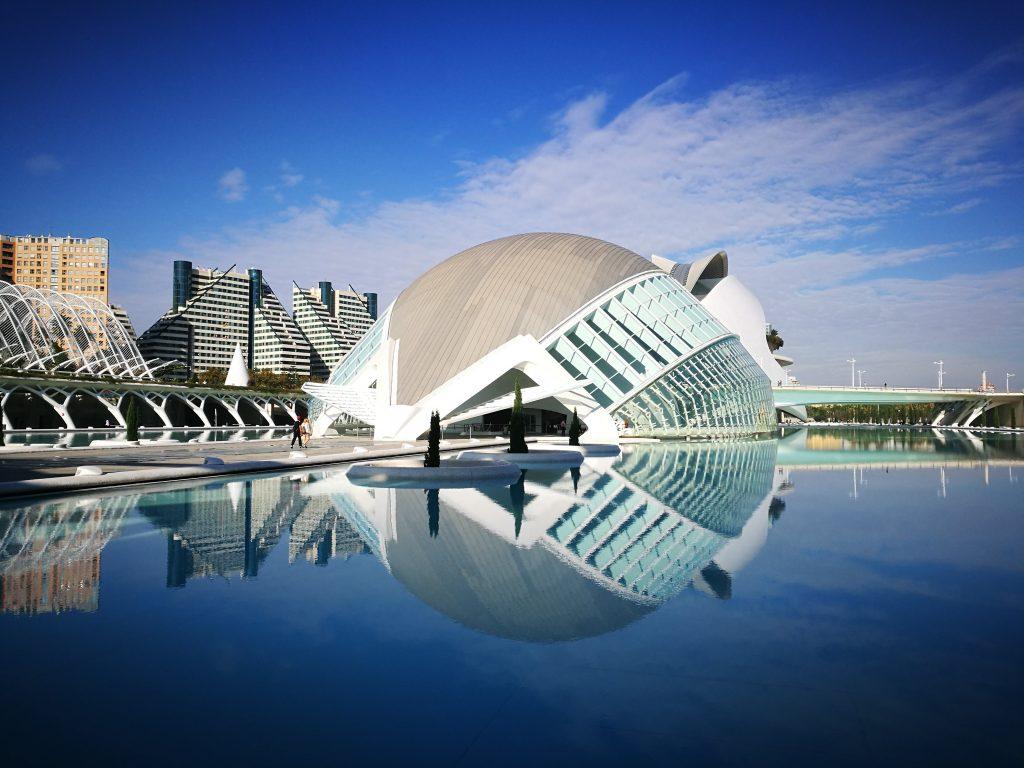 Hémisferique Cité des arts et des sciences valencia