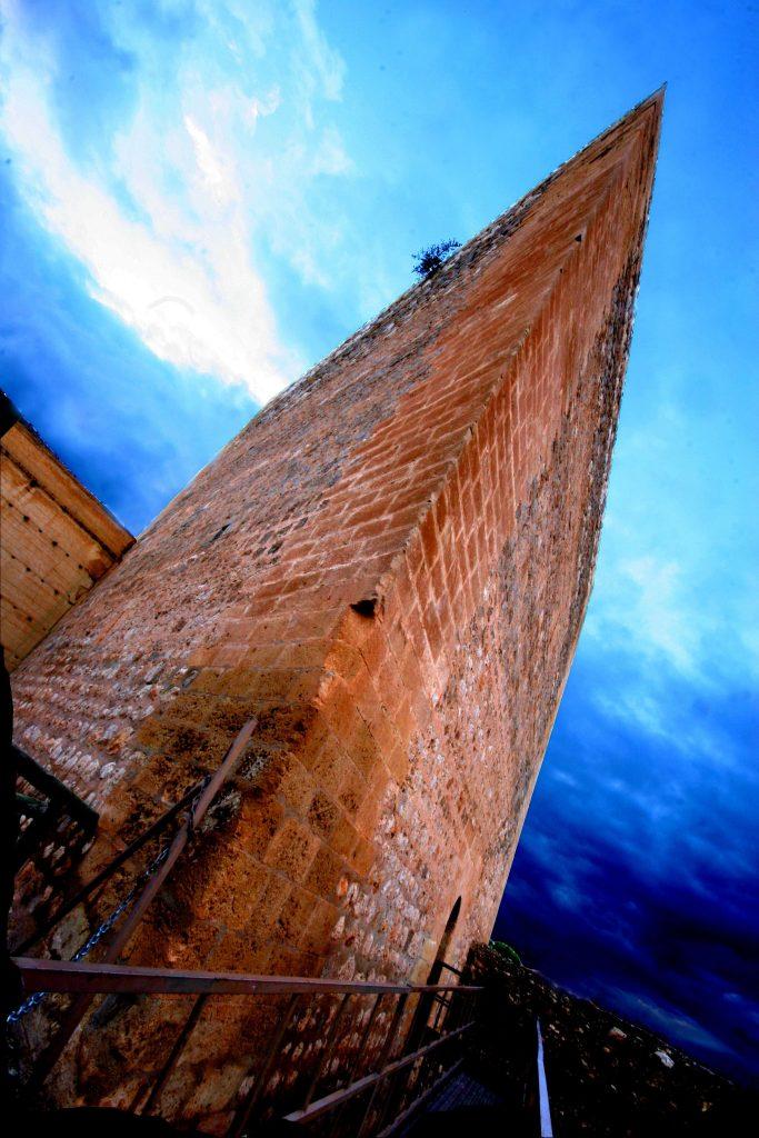 Tour du château Novelda